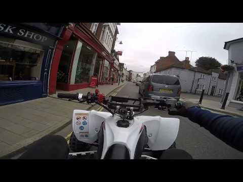 125 - Town Centre Yamaha Raptor 700 + Yfz450r Road Legal Quad