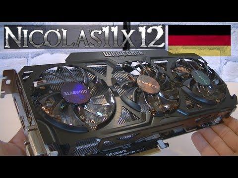 [DEUTSCH] GIGABYTE NVIDIA GeForce GTX 770 2GB GDDR5 Grafikkarte Testbericht