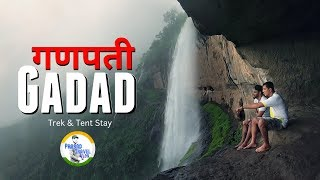 Ganpati Gadad | Monsoon Adventure Trek & Tent Stay | Prasad Travel Vlog