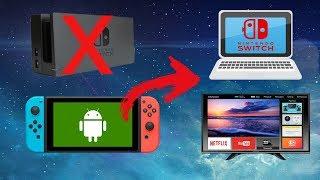 TELA DO SWITCH NO PC E SMART TV SEM DOCK
