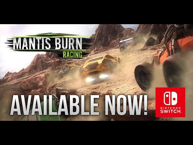 Mantis Burn Racing® - Nintendo Switch Launch Trailer [ESRB]