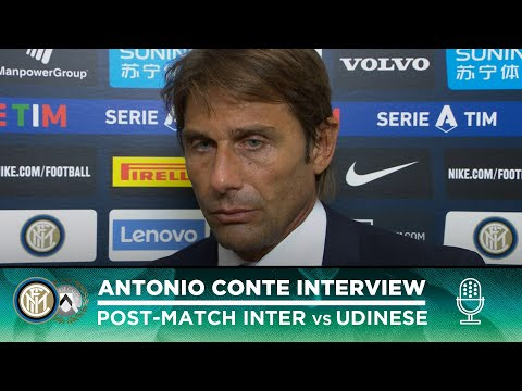 "INTER 1-0 UDINESE | ANTONIO CONTE INTERVIEW: ""We want to be a tough team"" [SUB ENG]"