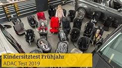 Kindersitztest Frühjahr | ADAC 2019