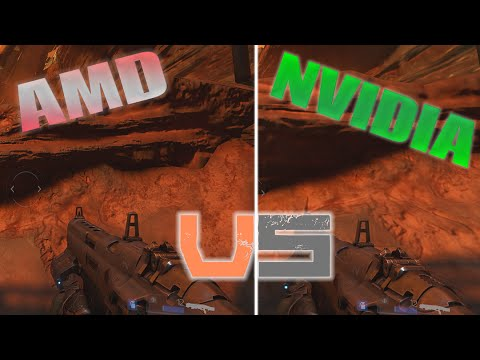 DOOM Graphics AMD vs Nvidia - The Way its Meant to be Played in 2016