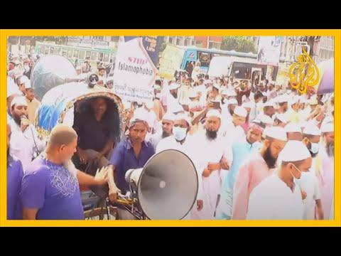 الآلاف يتظاهرون ضد الإساءة للنبي محمد  ????