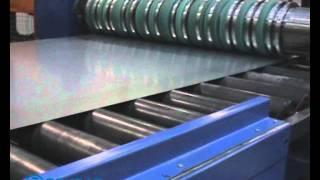 Линия продольной резки металла шириной 1850 мм