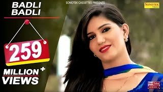Badli Badli Laage   Sapna Chaudhary  Vicky Kajla   Ruchika Jangid  New Haryanvi Songs Haryanavi 2020