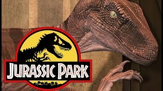 SNEAKY SPOOKY RAPTORS!   Jurassic Park: The Game (Episode 3) The Depths