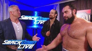 Rusev demands a place on Team SmackDown: SmackDown LIVE, Oct. 31, 2017