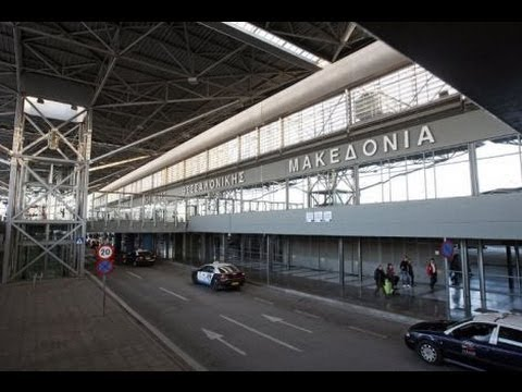 Thessaloniki International Airport'' Macedonia'' (1080p HD)