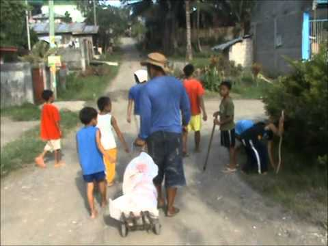 Cleaning the streets of Villapark- Cabantian:Davao City