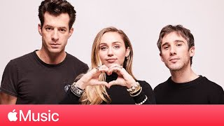 Miley Cyrus and Mark Ronson: