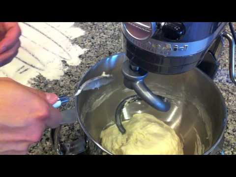 Baking a Pepe's inspired pizza Part 1- the dough.m4v