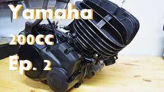 Yamaha 200cc Engine Build Part 2