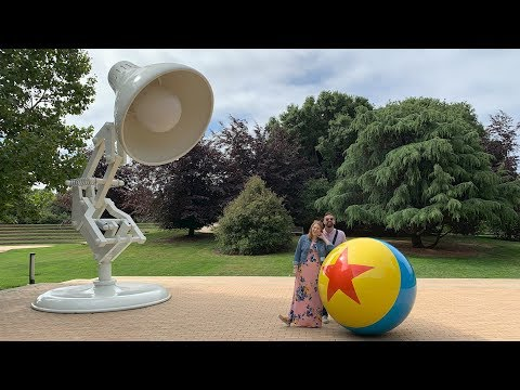 We Toured Pixar Animation Studios & The Walt Disney Family Museum In California