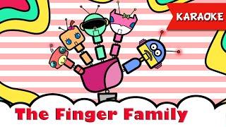 The Finger Family [Karaoke] | Nhac Tieng Anh Thieu Nhi | Hoc Tieng Anh Qua Bai Hat
