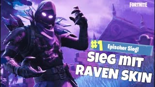 Solo-Win mit neuen Raven Skin | KVN | Fortnite Battle Royale