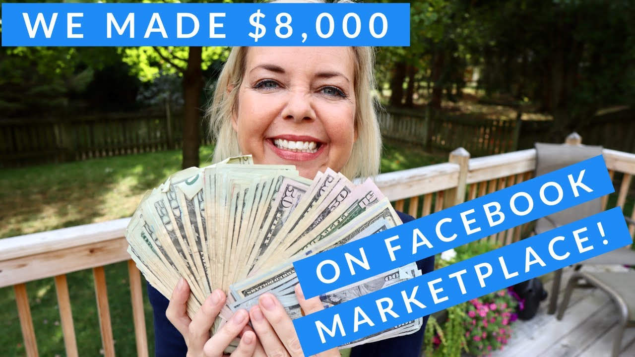 How we made over $8,000 on FB MarketPlace!