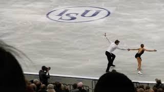 Чемпионат Европы по фигурному катанию в Минске Короткая программа Россия