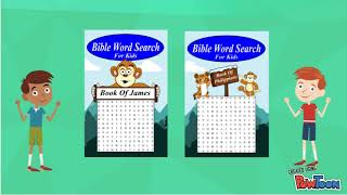 Bible Word Search For Kids (King James Version)