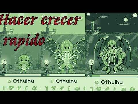 Cthulhu Virtual Pet  (subir de nivel rapido)