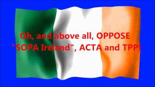 ATTENTION ALL IRISH CITIZENS: Stand up to Music Industry BULLIES!