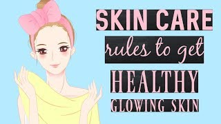 Beauty Tips For Face - 6 Rules That You Must Follow To Get Beautiful Skin Naturally
