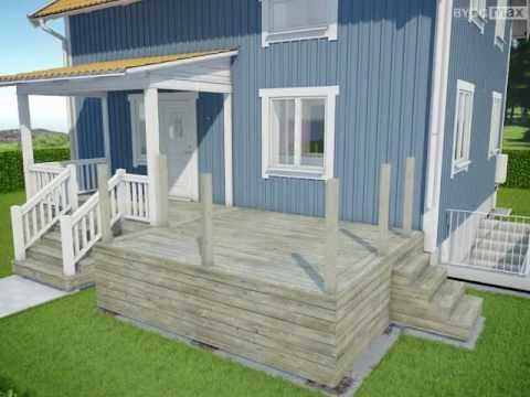 byggmax tips bygg terrasse del 7 rekkverk youtube. Black Bedroom Furniture Sets. Home Design Ideas