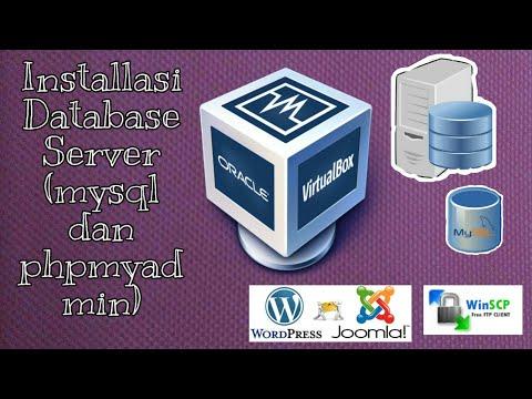 Installasi Database Server, (mysql dan phpmyadmin) thumbnail