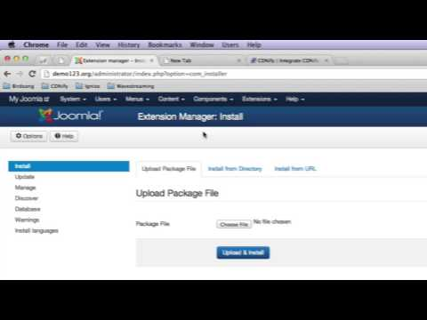 How To Set Up CDN With Joomla