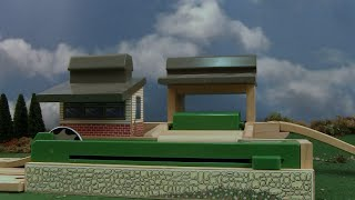 Wooden Railway Reviews - 2002 Sawmill And Dumping Depot