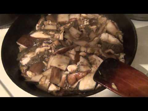 Как приготовить белый гриб видео