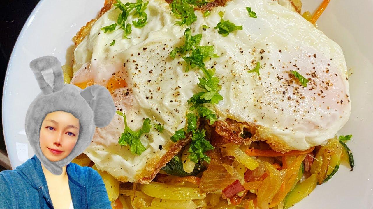 Download Stir-Fried Potatoes Recipe You'll love it / Breakfast Recipes
