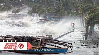 Sóng lớn uy hiếp điểm sửa chữa tàu thuyền Phú Yên   VTC