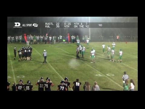 Kimball SD School  Football  KWL vs MillerHighmoreHarold