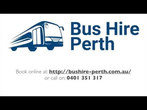 Bus Hire Perth - 0401 351 317