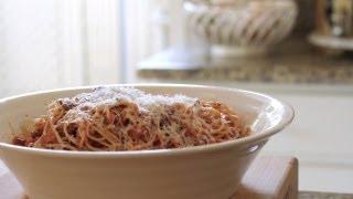 Spaghetti Bolognese Easy Pasta Recipe || Kin Eats