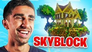 A NEW SERIES! - Minecraft SKYBLOCK #1
