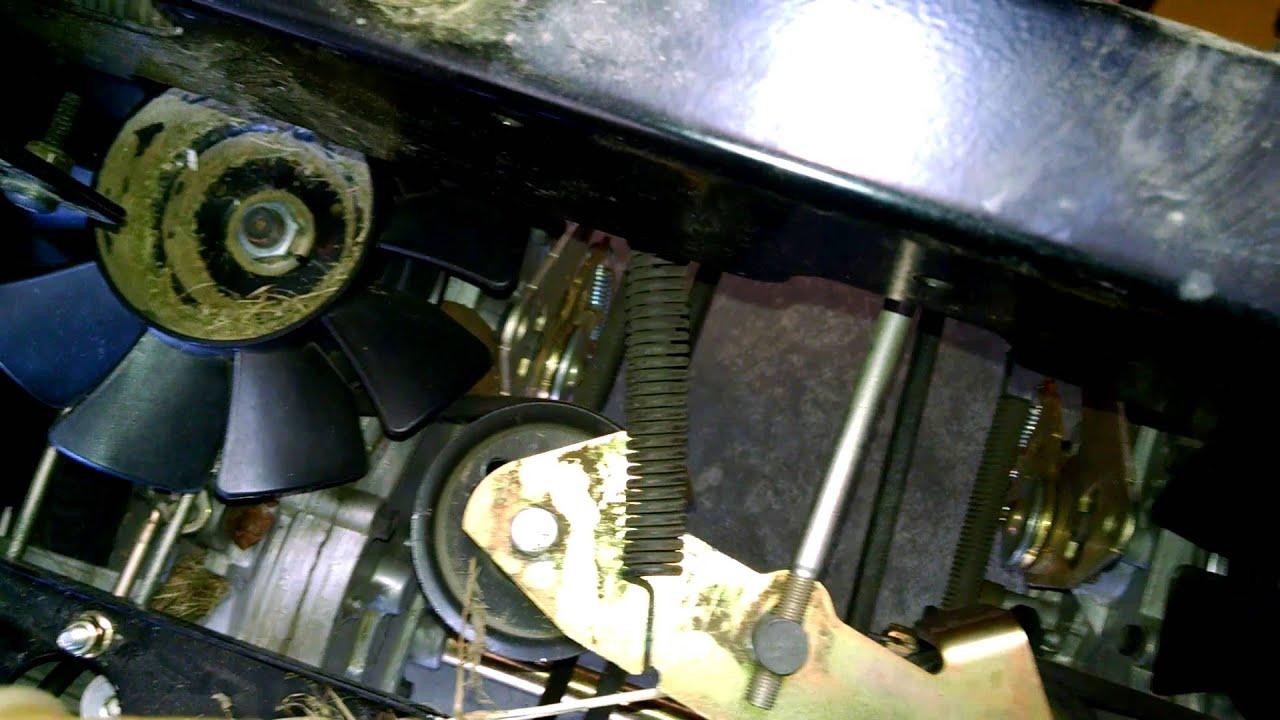 medium resolution of reinstall drive belt cub cadet