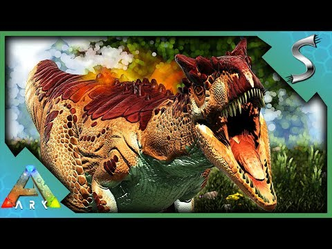SEARCHING FOR THE BEST ALLOSAURUS TO TAME! - Ark: Survival Evolved [Cluster E119]