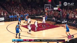 STEPHEN CURRY NBA LIVE 18 HIGHLIGHTS !!! AMAZING CROSSOVERS AND 3