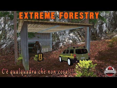 28 EXTREME FORESTRY | QUALCOSA DI STRANO | FARMING SIMULATOR 15