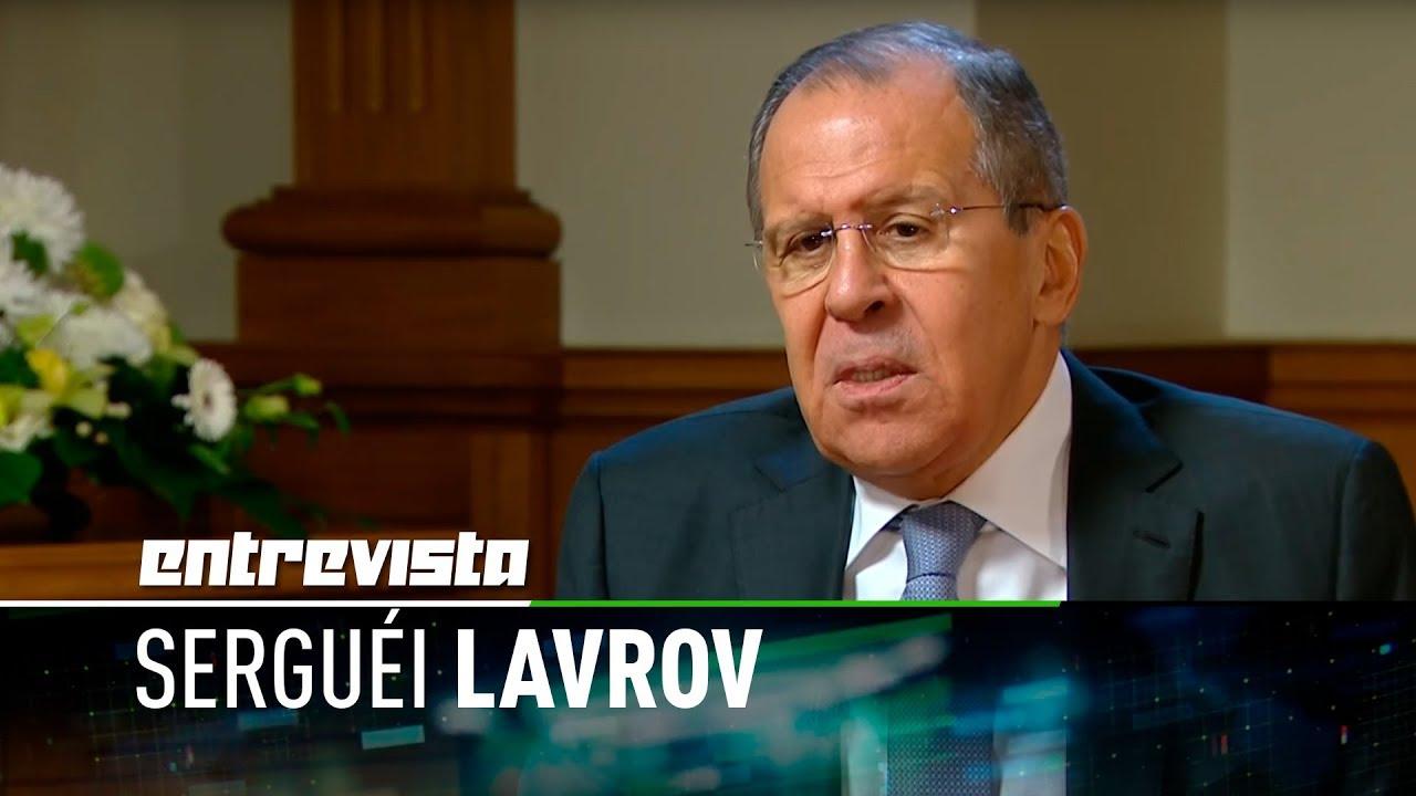 Entrevista exclusiva a Serguéi Lavrov