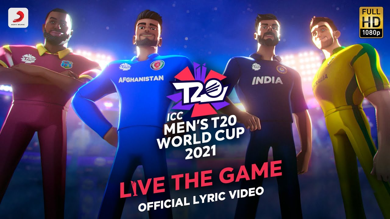 @ICC Men's T20 World Cup 2021 Official Anthem - Official Lyric Video|Amit T| Kausar M| Sharvi, Anand