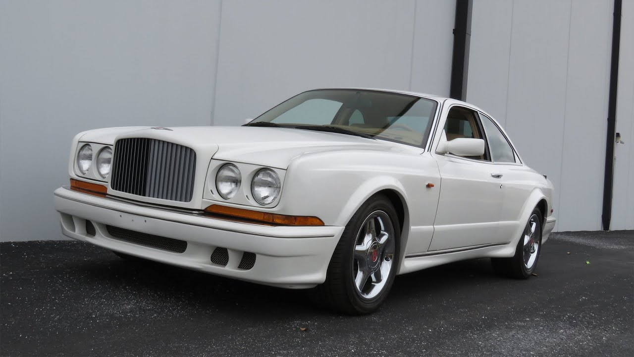1997 bentley continental t w 9k miles full tour start up