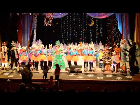 Childrens Theatre in Orsha, Belarus, January 2nd, 2018