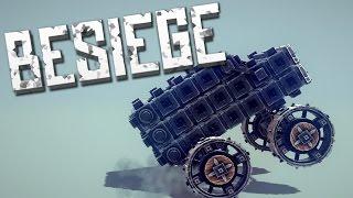 MONSTER TRUCK - Besiege Alpha Sandbox