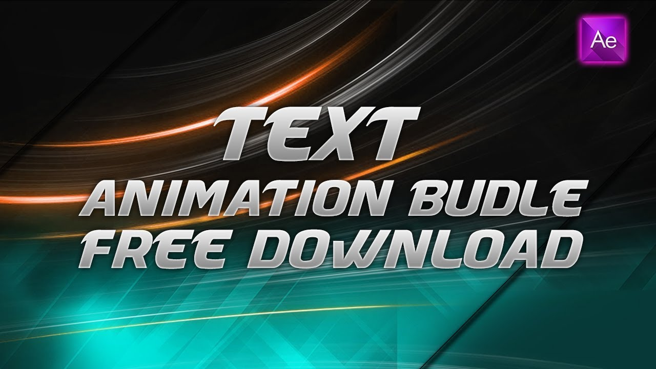 Texts Animation Bundle Free Download After Effects Preset