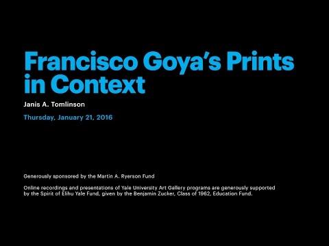 Francisco Goya's Prints in Context