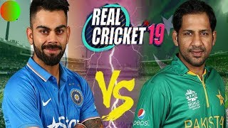 INDIA VS PAKISTAN T20 MATCH IN REAL CRICKET 19